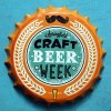 Mestiere decorativo del metallo del segno dello stagno del segno di figura della protezione della bottiglia da birra