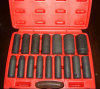 16PC 1/2 Inch Drive SAE Deep Wall Impact Socket Set