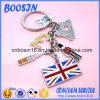 Wholesale를 위한 공장 Custom 국가 Flag Shape Keychain