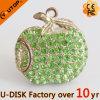 Disco Heavy Metal de cristal do USB da jóia de Apple (YT-6231-16)