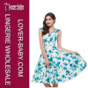 Robe de patineur de fleur de robes de mode de femme (L36115-1)