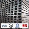 GB/JIS/DIN warm gewalzter Kanal-Stahl für Hochbau