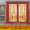 발코니 또는 Kitchen Sliding Grille Glass Timber/Wooden/Wood Door (XS3-010)