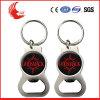 Trousseau de clés promotionnel bon marché d'ouvreur de bouteille en métal