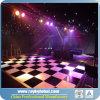Портативная танцевальная площадка оценивает видео- танцевальную площадку с краями