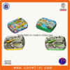 Qualitäts-kleiner rechteckiger Zigarrenschachtel-preiswerter Preis-Geschenk-Zinn-Kasten mit Scharnier