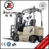 2.5T motor de CA Cuatro ruedas Carretilla elevadora eléctrica