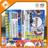 Carte de cadeau de carte de PVC d'impression de Cmyk avec le code barres