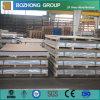 Placa de aluminio de 6082 infantes de marina con las costillas para Shippbuilding