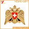 カスタム高品質の金張りのバッジ(YB-SM-51)