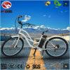 Bici eléctrica gorda del crucero de la playa de la mujer de la batería de litio del neumático para la venta