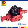K13c de Pomp van het Water 24V voor de Delen van de Dieselmotor van het Graafwerktuig Hino