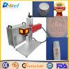 Máquina portable del laser de la fibra de la impresora del CNC para el empaquetado cosmético
