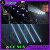 4X10W LEIDENE van de Apparatuur van DJ van het stadium Straal die HoofdWas bewegen