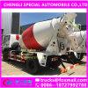 camion de mélangeur de pompe concrète de 4X2 Sinotruk Wangpai 3000liters