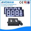 El panel impermeable blanco del precio de la gasolina de la pulgada LED de Hidly 12