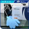 Свет - голубые перчатки рассмотрения нитрила, пудрят свободно перчатки рассмотрения нитрила, перчатки Малайзию нитрила