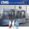 Máquina de rellenar del agua pura automática 3 in-1 para la botella plástica