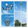 La INMERSIÓN caliente galvanizó el alto acero poste de la iluminación del mástil de los 20m los 25m los 30m