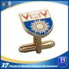 めっきの金(ele-CL001)が付いている記念品のカフスボタン