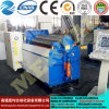 Máquina de rolamento aprovada personalizada Mclw12xnc-16*1500 da placa do CNC do Ce de Rolls da placa