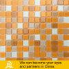 노란 주황색 수영풀 수정같은 유리 모자이크 (색깔 P11)