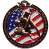 Médaille militaire en alliage de zinc faite sur commande avec le prix usine bon marché