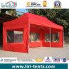 Liriの赤いカラー折るおおい、望楼のテント
