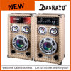 PA 확성기 액티브한 입체 음향 홈 DJ 스피커 (XD6-6011)