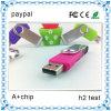 Привод вспышки USB шарнирного соединения, популярная ручка USB
