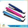 Dispositivos de retención homeuse profesional o LCD exhibición del salón plancha para el pelo plano del hierro