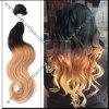 Prolonge péruvienne de cheveux humains d'Ombre