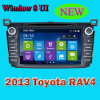 in Dash Car DVD GPS mit Navigation System Special für Toyota 2013 RAV4 (IY8018)