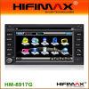 GPS van de Auto DVD van Hifimax het Systeem van de Navigatie voor Peugeot 307 (hm-8917G)