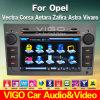 6.2 '' HD en el reproductor de DVD del coche para Opel Vectra Zafira Astra Vivaro