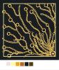 De gedrukte Sjaal van de Zijde (gs05-26-1)