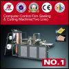 Ordenador de control de doble capa de película de sellado / corte de la máquina (GFQ-600/700/900/1000)