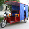 Electric super Passenger Tricycle Designed para o Indian Market de The