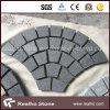 Piedra de pavimentación en abanico gris oscura del granito G654
