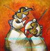 Pintura al óleo, pintura al óleo moderna, pintura al óleo abstracta