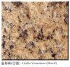 Granito de Giallo Veneziano, telhas do granito e bancadas do granito