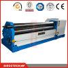 Máquina de dobra simétrica mecânica da placa de 3 rolos (W11F-6X2500)