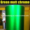 Matt verde Chrome Vinyl Film per Car Wrap