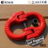 G80 nosotros puente de conexión de cadena forjado pintado rojo de la aleación