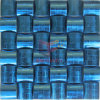 الأزرق أوراكل نمط الفولاذ المقاوم للصدأ المعادن فسيفساء (CFM898)