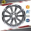 O carro popular da roda da liga da réplica de China da largura da polegada 8.5 do projeto 18 orlara peças de automóvel para a venda