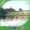 Зеленый цвет/конструкция Prefab дом/панельный дом/дом/здание стальной структуры для жить