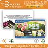Cartão livre do presente da promoção do projeto do cartão do PVC de Manufactring OEM/ODM da fábrica de Tianjun