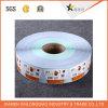 Kundenspezifischer Service-Barcode-Druck-selbstklebender Papierkennsatz-Drucken-Aufkleber