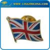Изготовленный на заказ значок Pin национального флага металла эмали
